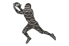 Wide Receiver DXF File