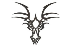 Dragon Head DXF File