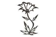 Stylized Wildflower DXF File