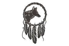 Wolf Dreamcatcher