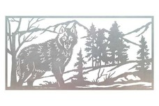 Wolf Railing Insert