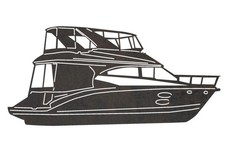 Luxury Yacht DXF File