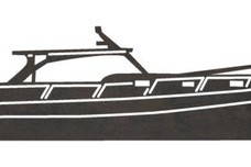 Long Yacht Side-Profile DXF File