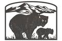 Bear and Cub Sign