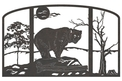 Bear Fire Screen