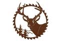 Saw Blade & Deer