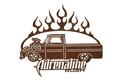 Adrenaline Rush Truck Sign