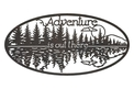 Adventure Oval Sign