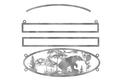 Bear Oval Sign
