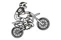 Biker Stock Art