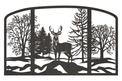 Buck Fireplace Screen