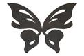 Open Butterfly Wings DXF File