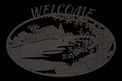 Cabin Welcome Sign