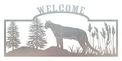 Cougar Welcome Sign