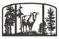 Cow Fireplace Screen