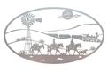 Cowboys Oval Insert