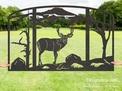 Elk Fireplace Screen