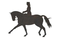 Horse Riding Equestrian DXF File
