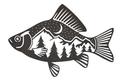 Single Fish DXF File