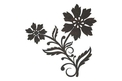 2-in-1 Floral DXF File