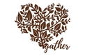Gather Heart Stock Art