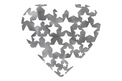 Heart with Stars DXF File