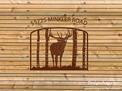 Bugling Elk Address Sign