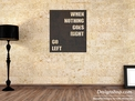 Quote Wall Art