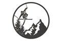 Skiing Wall Art