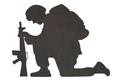 Kneeling Soldier DXF File