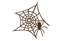 Spooky Spider Web DXF File