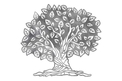 Beautiful Tree Of Life DXF File