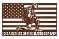 Veterans Flag Wall Art