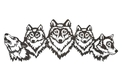 Wolfpack Wall Art