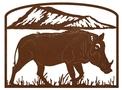 Boar Address Sign