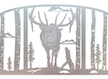Elk Fire Screen