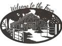 Barn Welcome Oval