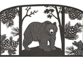 Bear Fireplace Screen