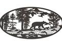 Bear Oval Insert