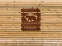 Three Piece Bear Welcome Sign