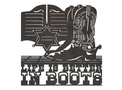 Life in Boots DXF File