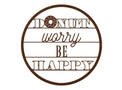 Donut Worry Wall Art
