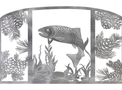 Fish Fireplace Screen