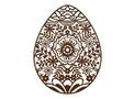 Floral Egg Wall Art