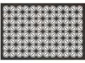 Floral Privacy Screen