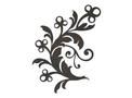 Floral Design DXF File