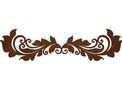 Abstract Floral & Swirls DXF File