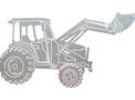 Front_Loader_Truck DXF File