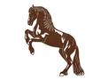 Horse In Motion Stock Art