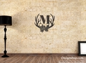 Monogram (M) Wall Art